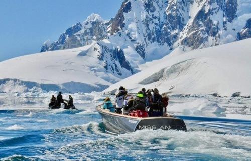 Long Island Yacht 28 Tender in Antarctica